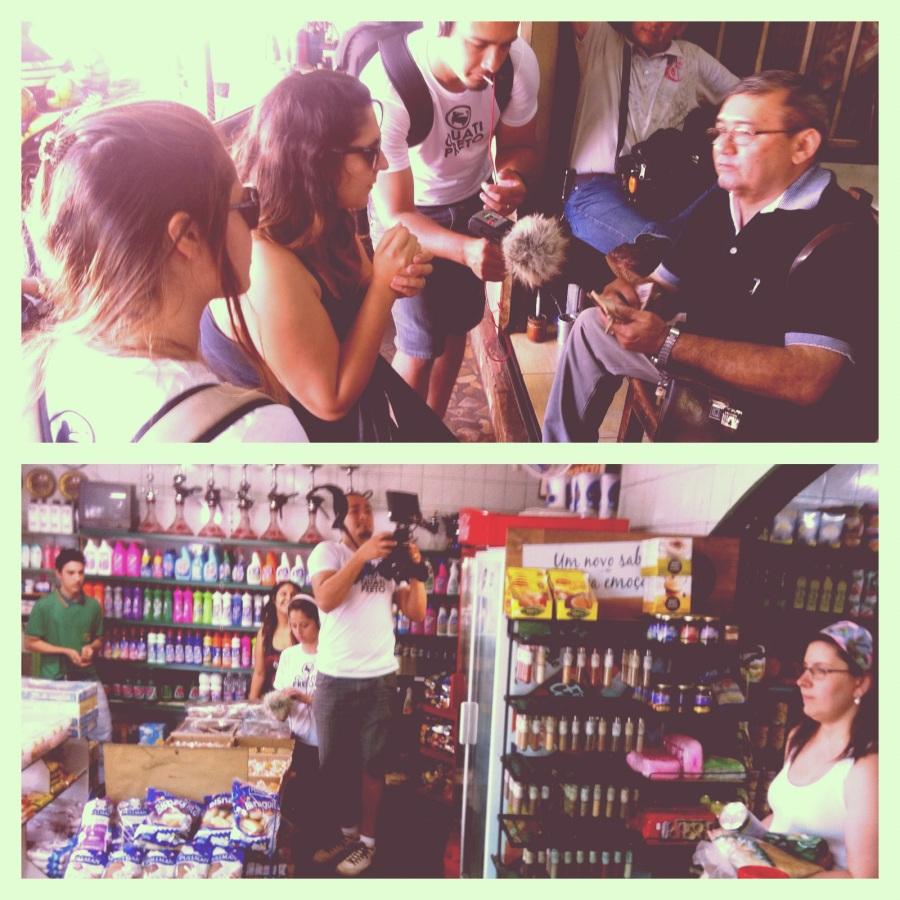 Gravando no Paraguai e Brasil