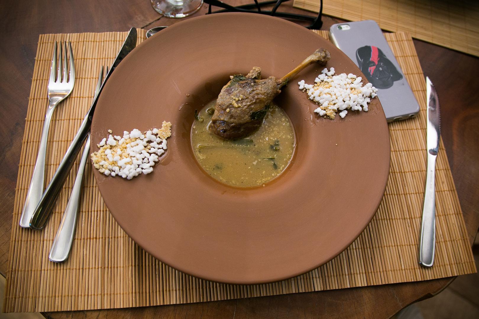 Também nos deliciamos com o famoso (e quase lendário) prato pato ao tucupi