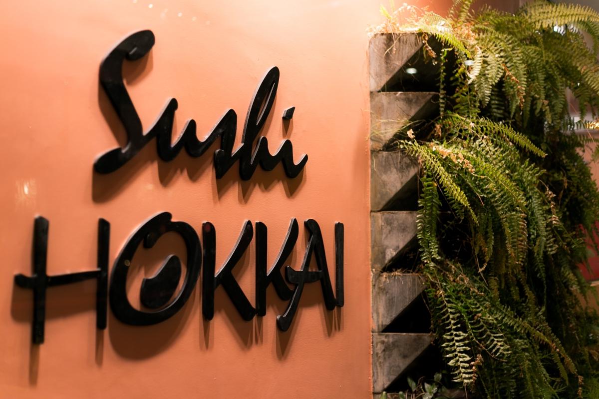 O buffet de quinta-feira do Sushi Hokkai