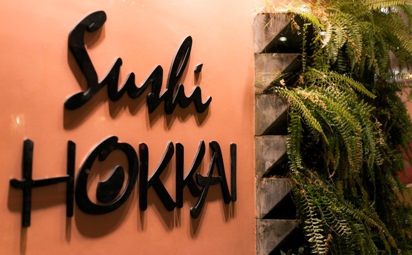 O buffet de quinta-feira do SushiHokkai