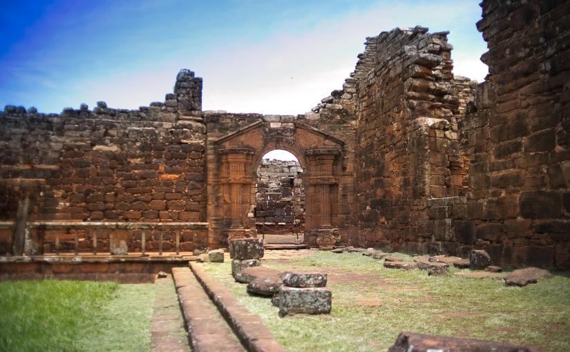 San Ignacio Mini é um local especial localizado a 250 km de Foz doIguaçu
